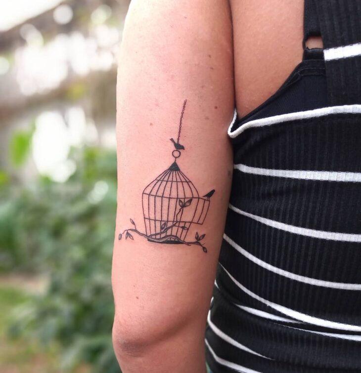 85 ideias de tatuagem de pássaros simplesmente encantadoras - 74