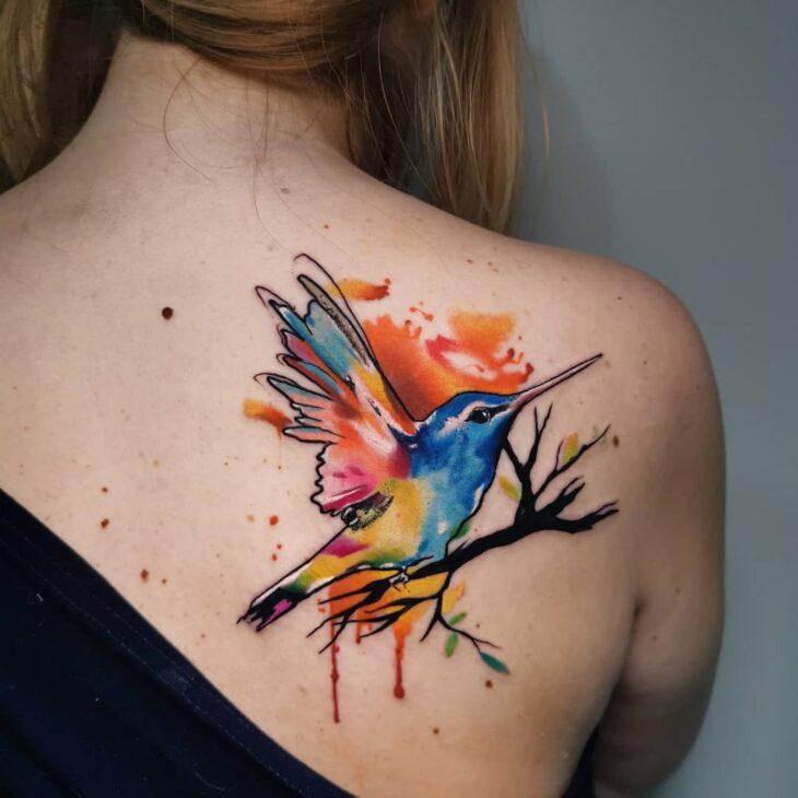 85 ideias de tatuagem de pássaros simplesmente encantadoras - 76
