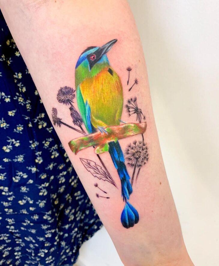 85 ideias de tatuagem de pássaros simplesmente encantadoras - 77