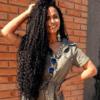 40 fotos de cabelo cacheado preto que mostram a versatilidade da cor