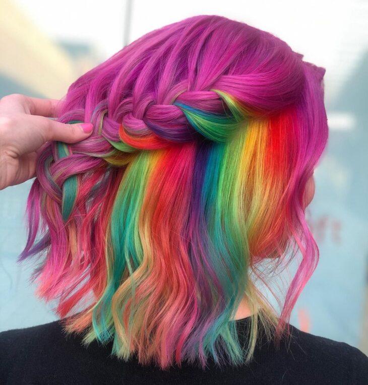 cabelo curto colorido 31