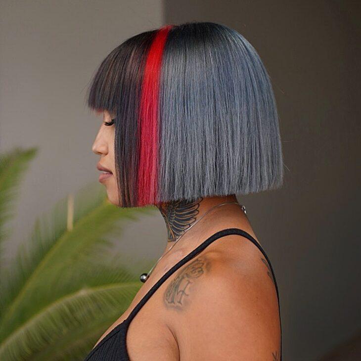 cabelo curto colorido 8