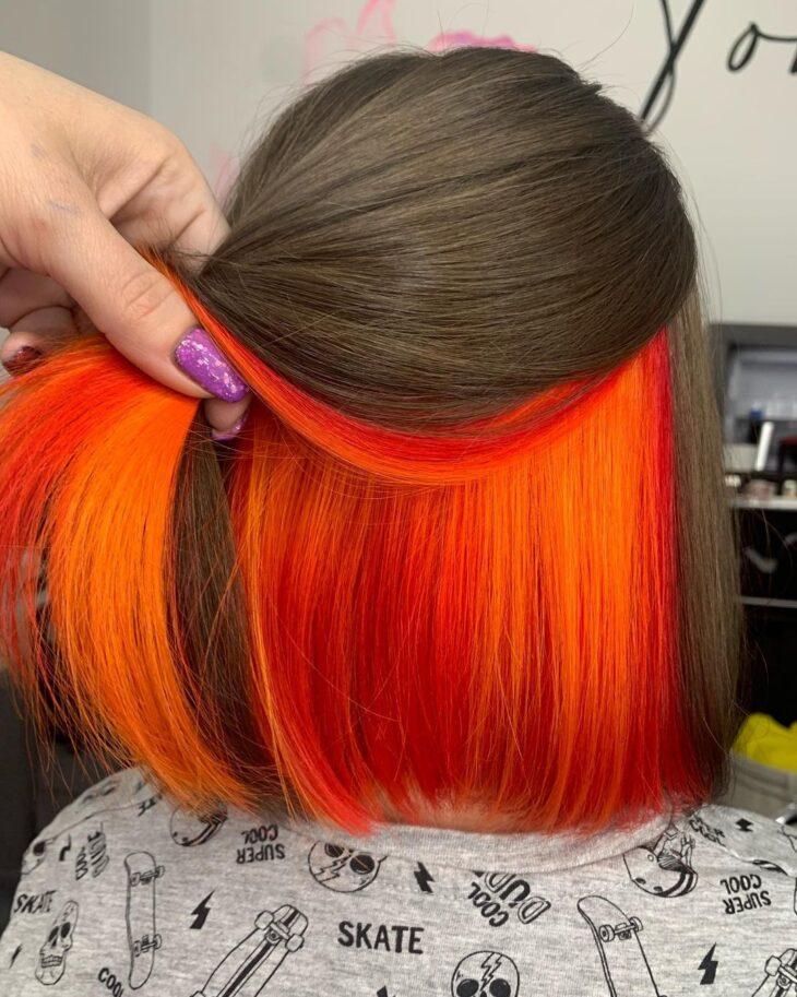 cabelo curto colorido 42