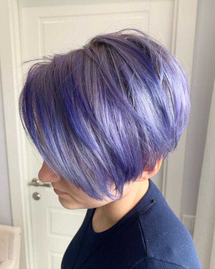 cabelo curto colorido 37