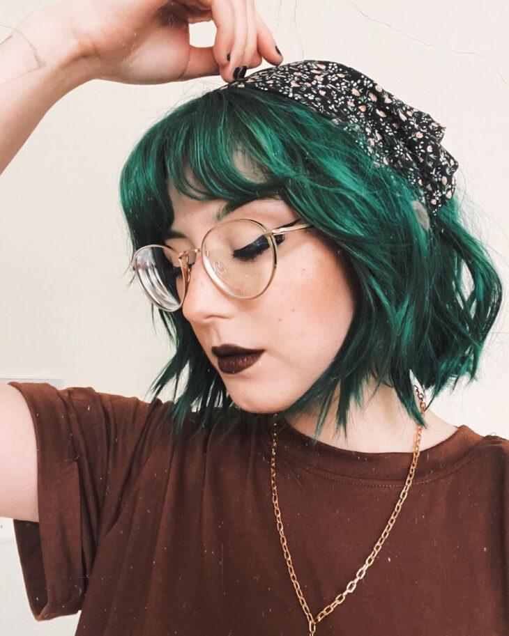cabelo curto colorido 6
