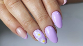 40 fotos de unhas com esmalte lilás charmosas e delicadas