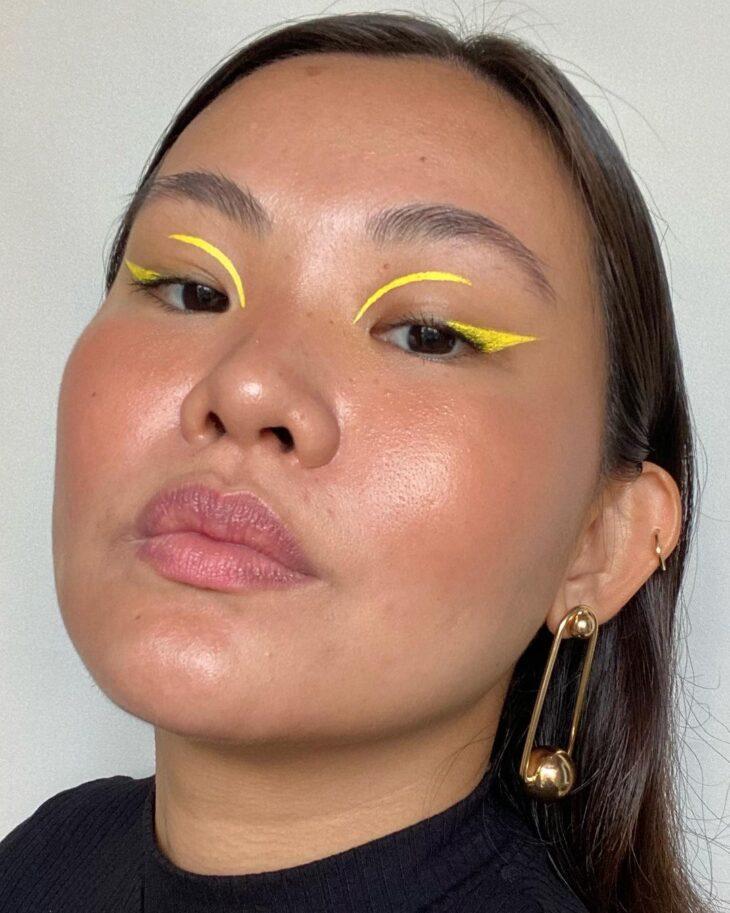 maquiagem amarela 9