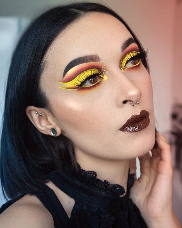 maquiagem amarela 22