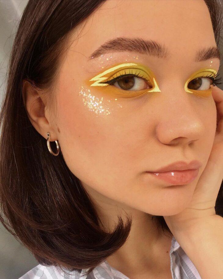 maquiagem amarela 41