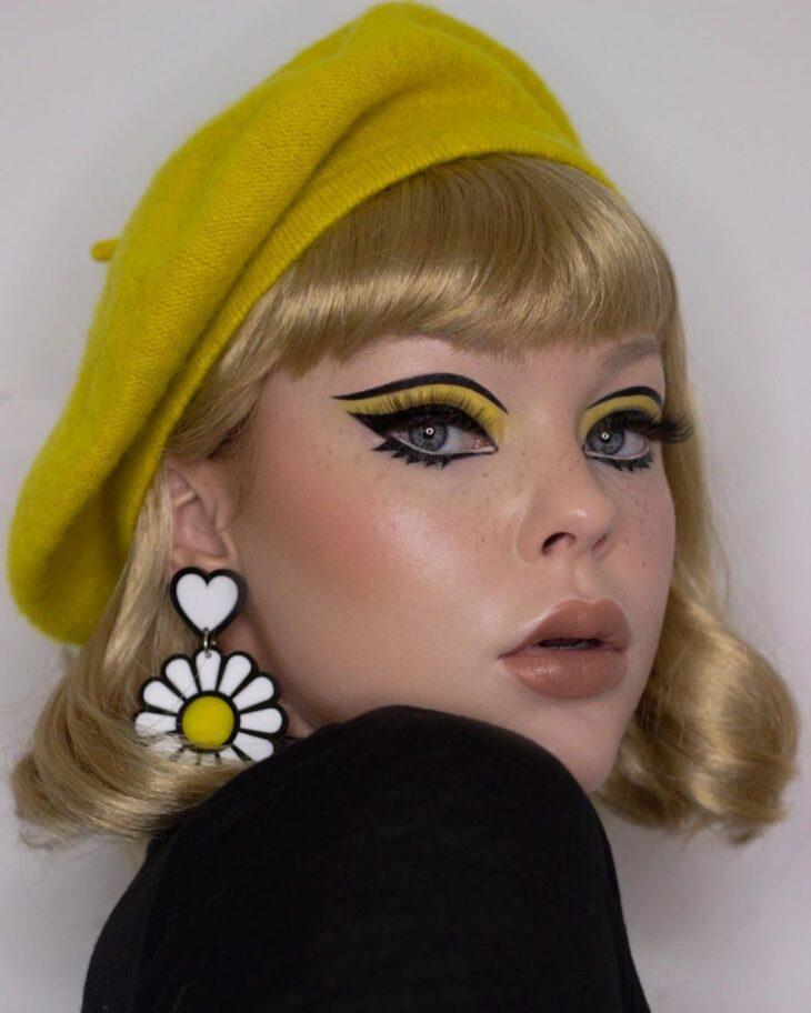 maquiagem amarela 15