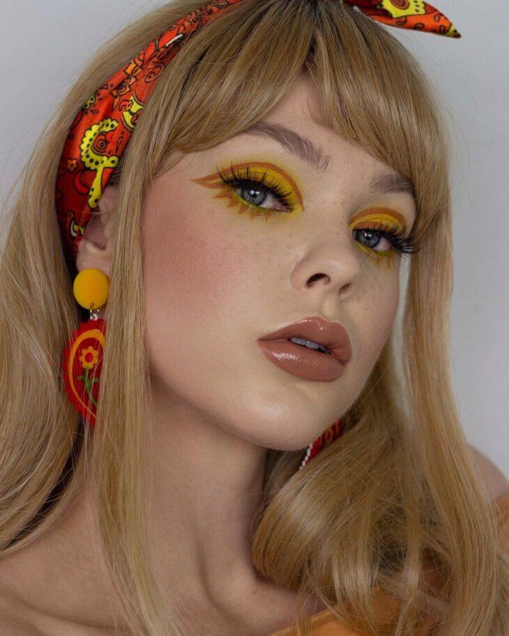 maquiagem amarela 29