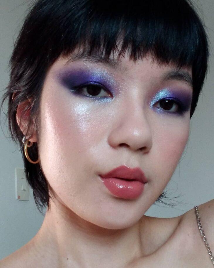 40 ideias de maquiagem roxa para fugir do tradicional e esbanjar estilo - 4