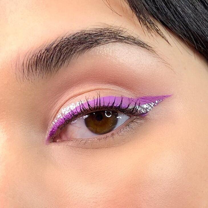 40 ideias de maquiagem roxa para fugir do tradicional e esbanjar estilo - 14