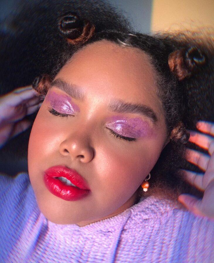 40 ideias de maquiagem roxa para fugir do tradicional e esbanjar estilo - 15