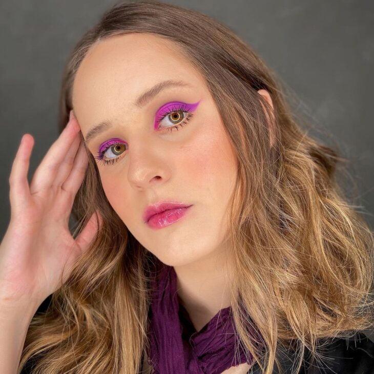 40 ideias de maquiagem roxa para fugir do tradicional e esbanjar estilo - 2