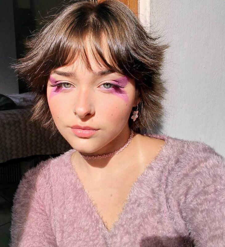 40 ideias de maquiagem roxa para fugir do tradicional e esbanjar estilo - 26