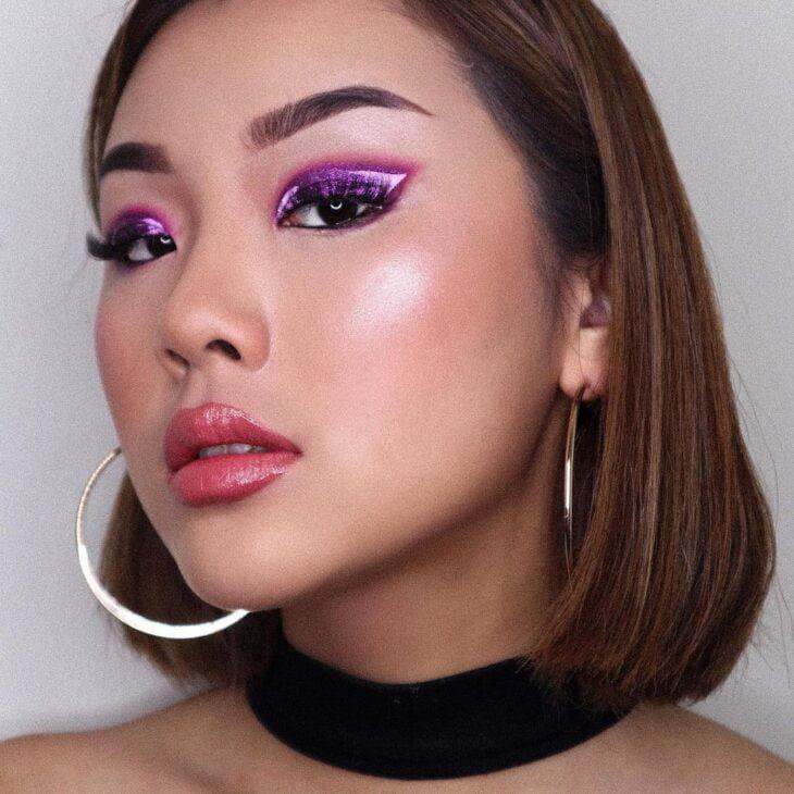 40 ideias de maquiagem roxa para fugir do tradicional e esbanjar estilo - 38