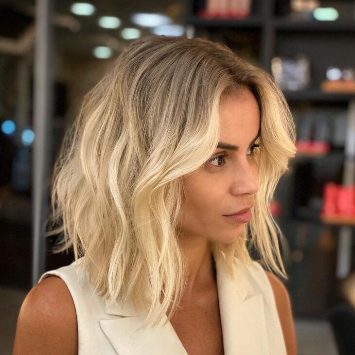 ombre hair em cabelo curto 60