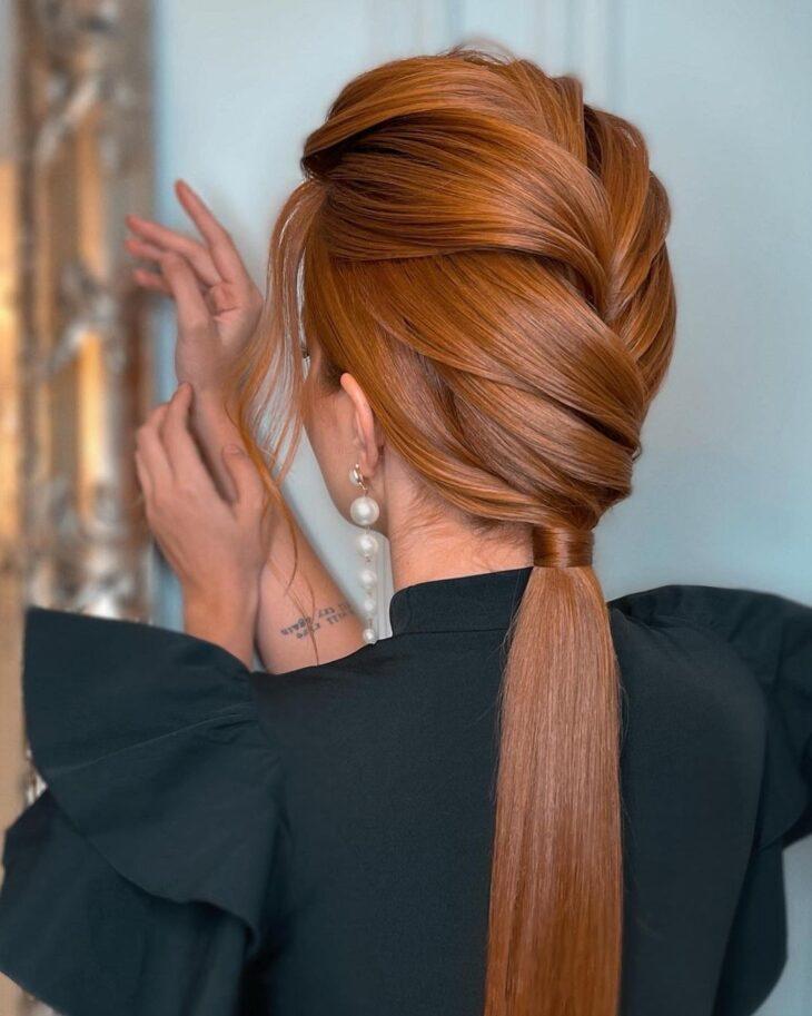 penteados para cabelos lisos 21