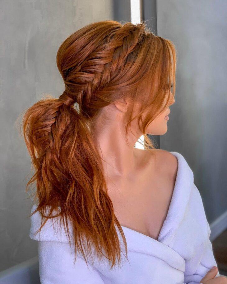 penteados para cabelos lisos 22