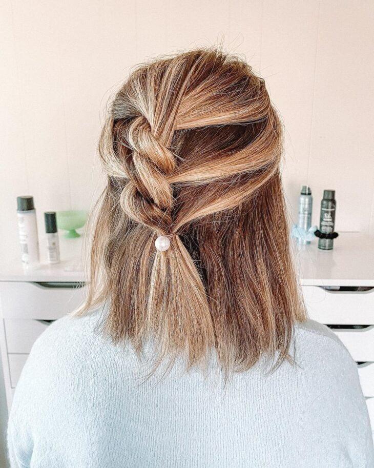penteados para cabelos lisos 36