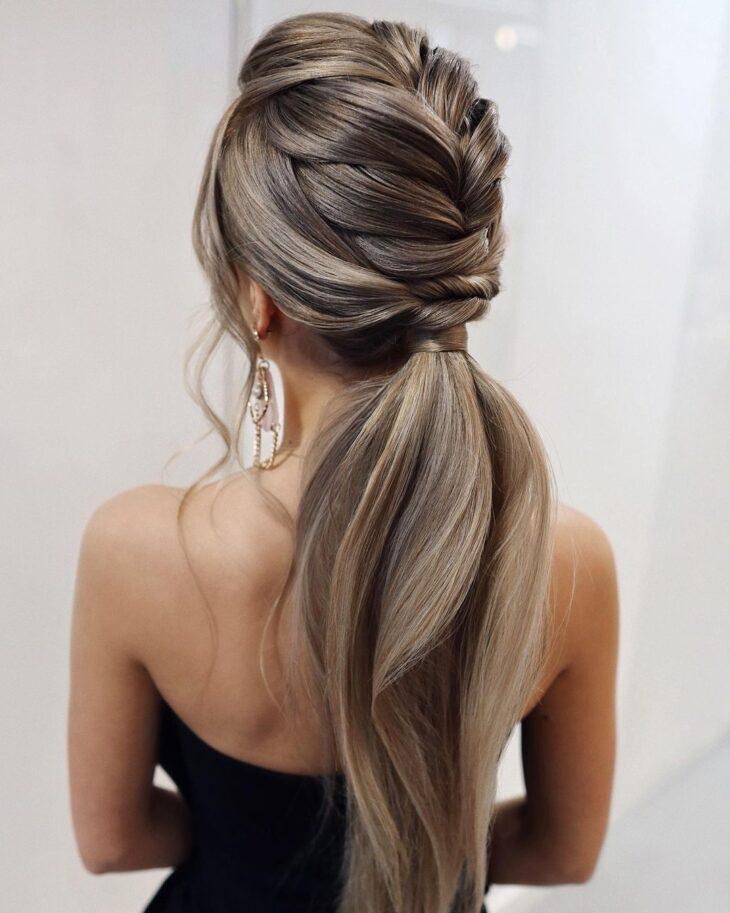 penteados para cabelos lisos 37