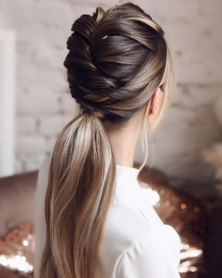 penteados para cabelos lisos 39
