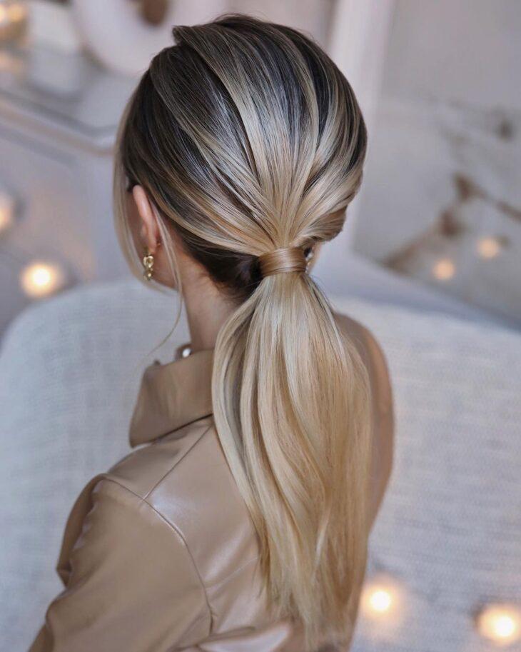 penteados para cabelos lisos 40