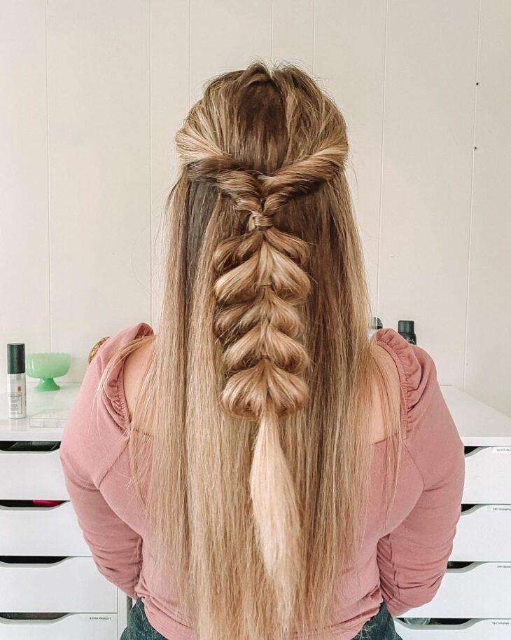 penteados para cabelos lisos 54