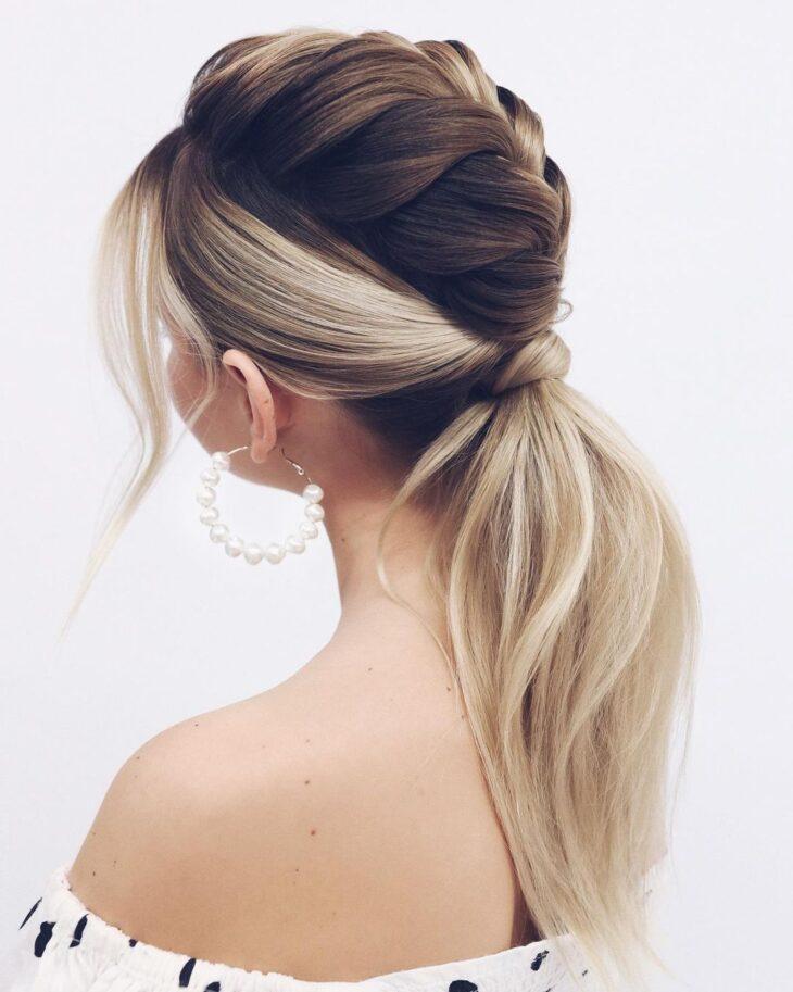 penteados para cabelos lisos 68
