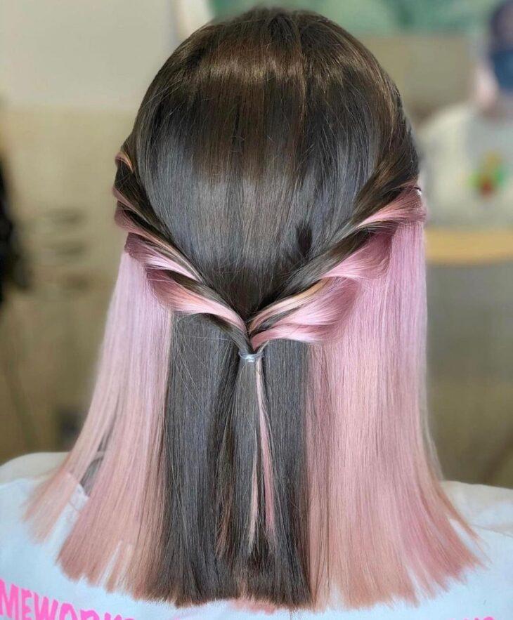 penteados para cabelos lisos 69