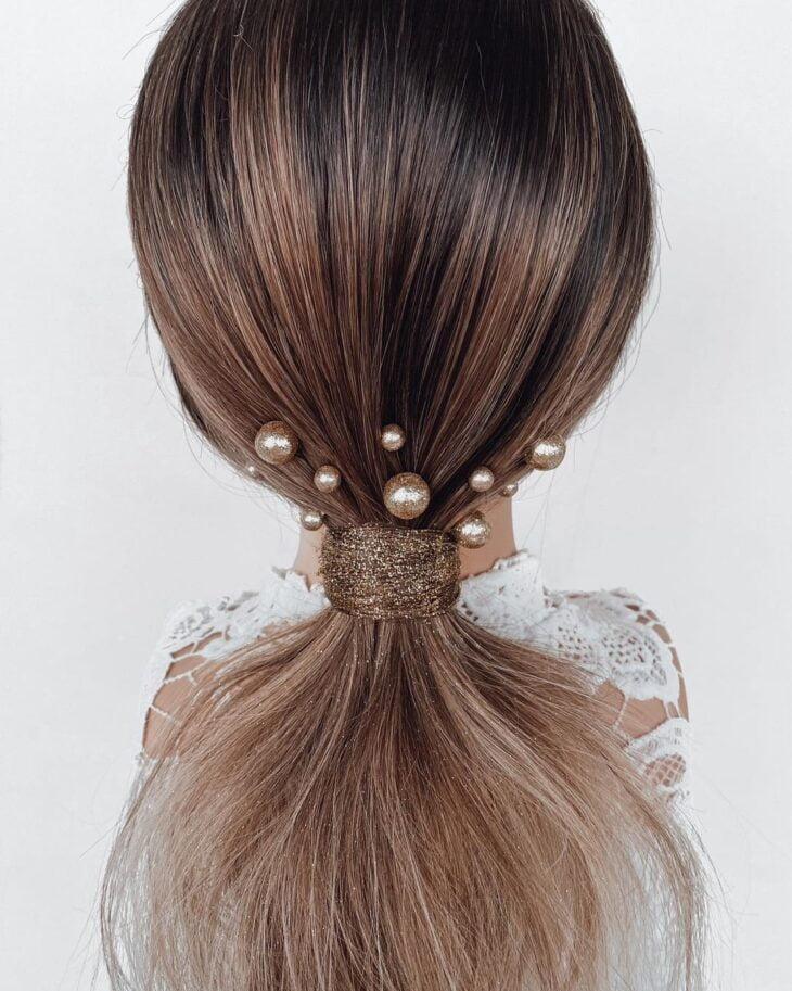 penteados para cabelos lisos 70