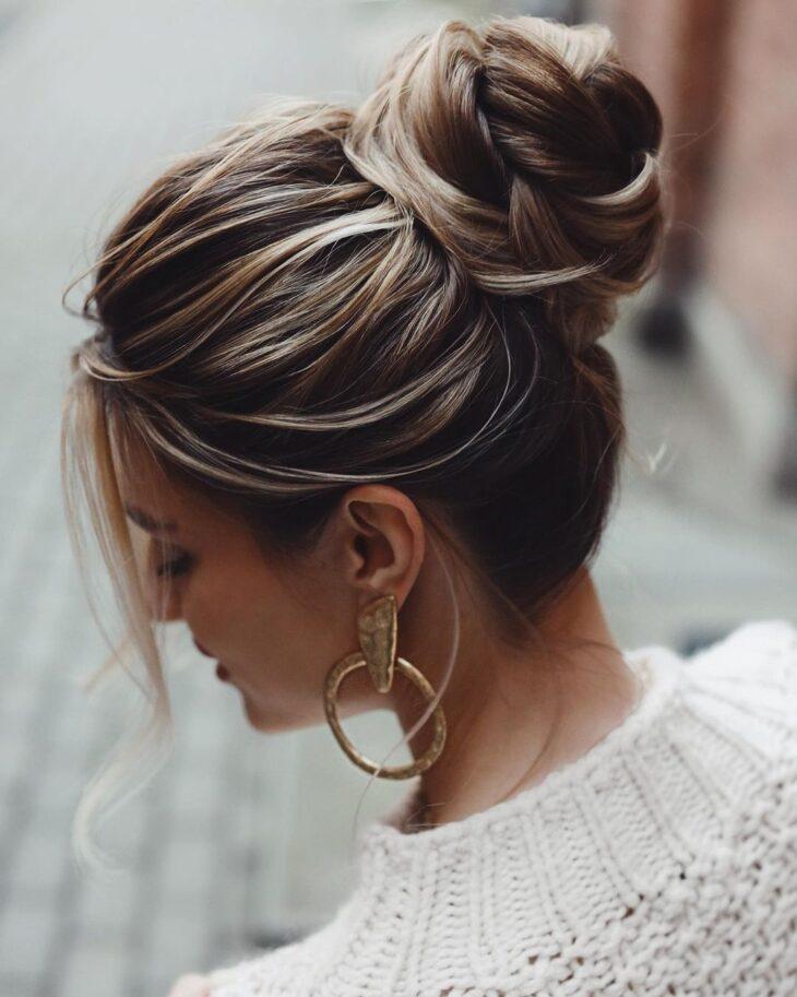 penteados para cabelos lisos 10