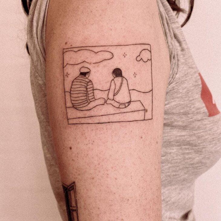tatuagem minimalista 67
