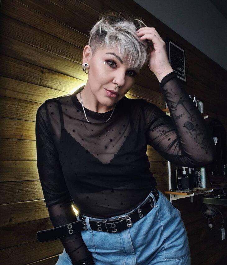 cabelo cinza 30