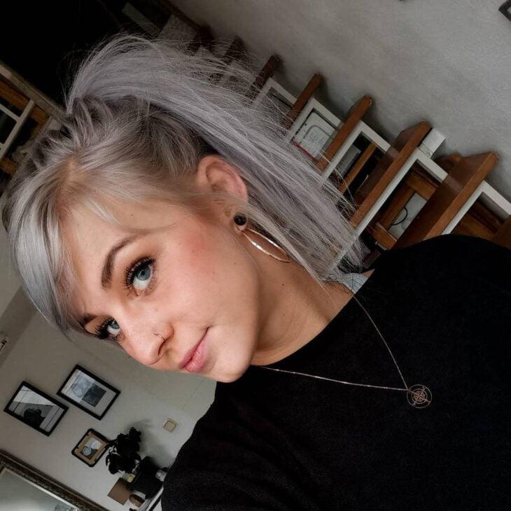 cabelo cinza 34
