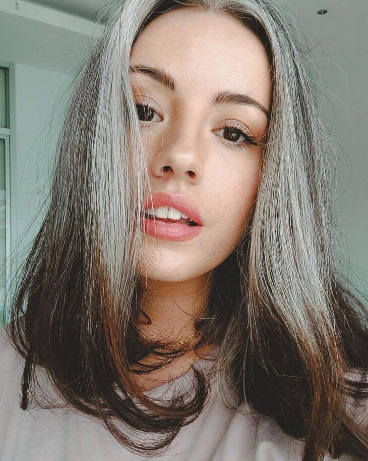 cabelo cinza 36