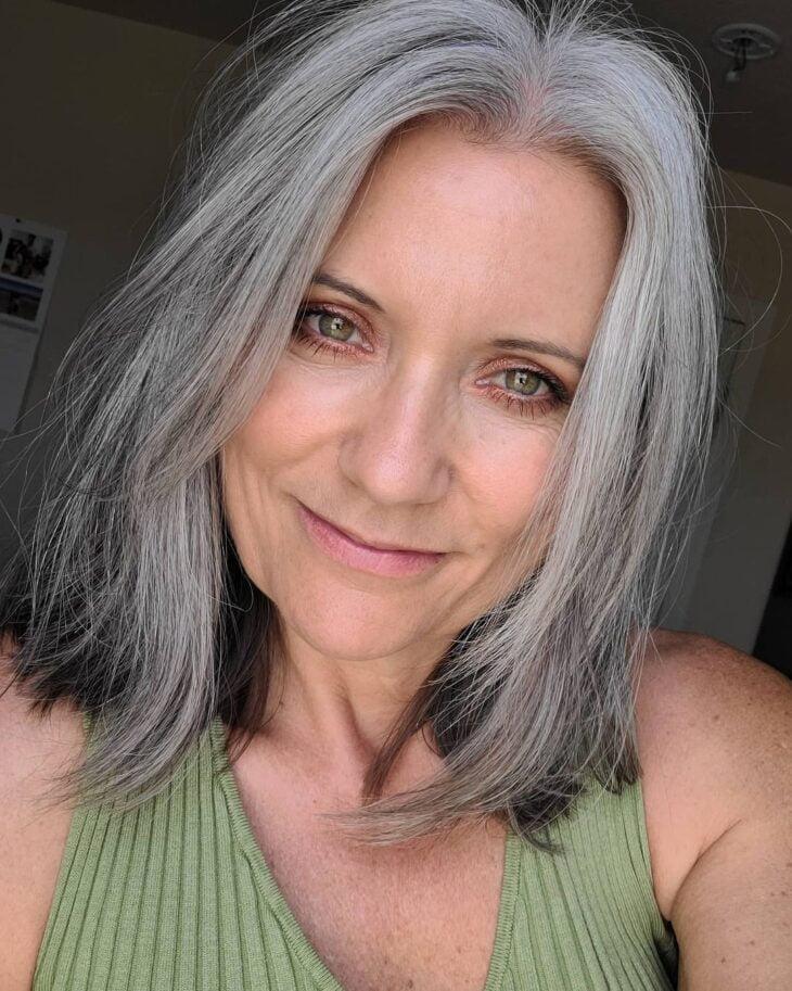 cabelo cinza 37