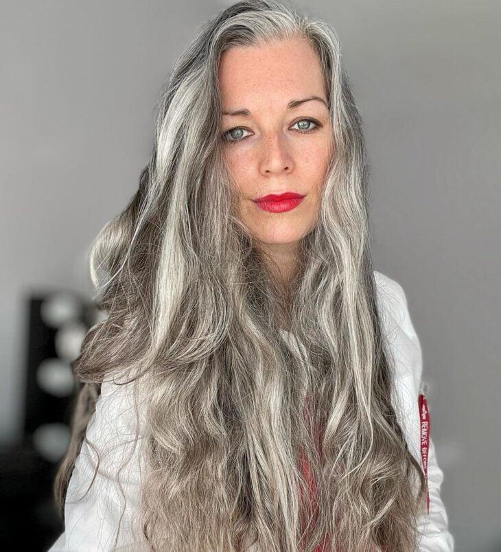 cabelo cinza 40