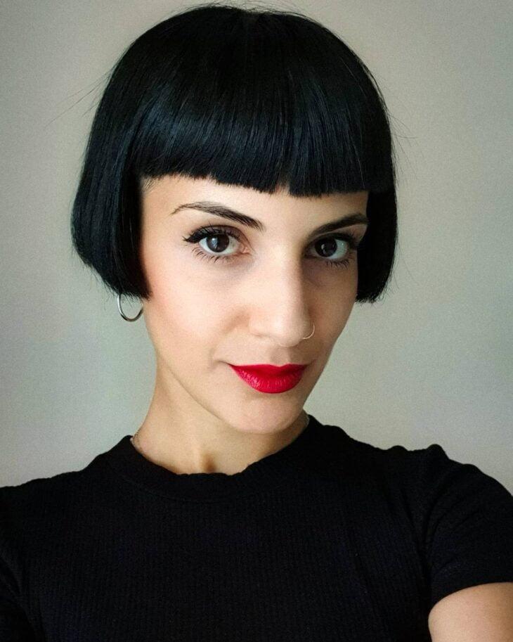 cabelo curto preto 45