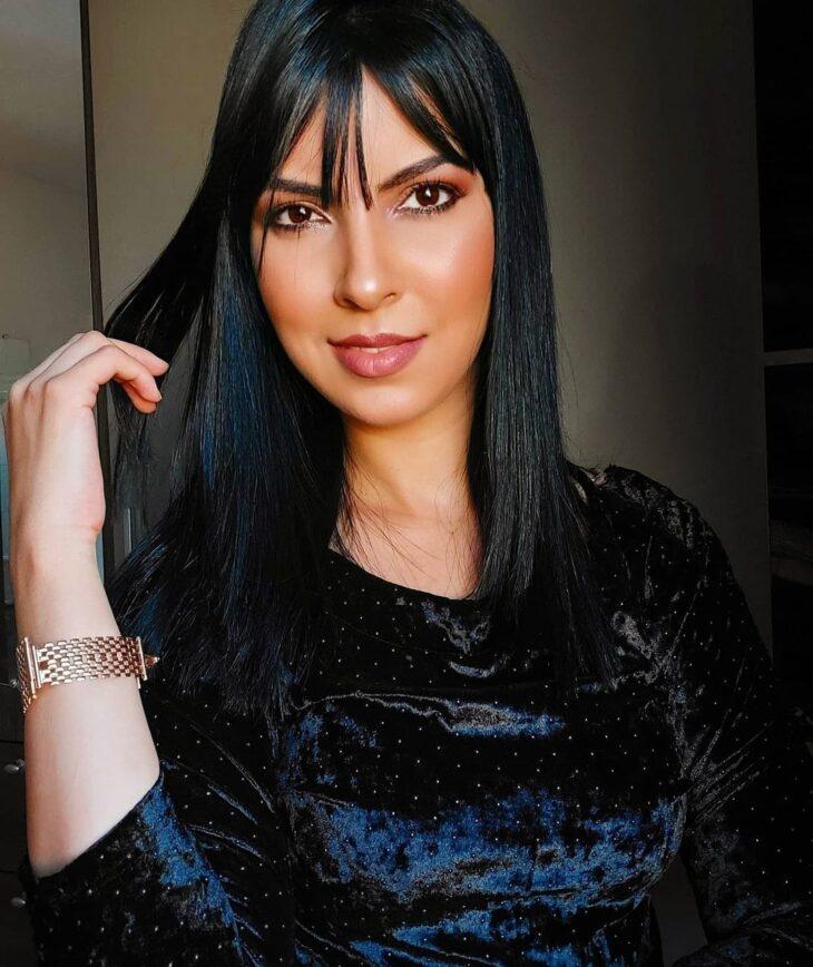 cabelo preto azulado 15