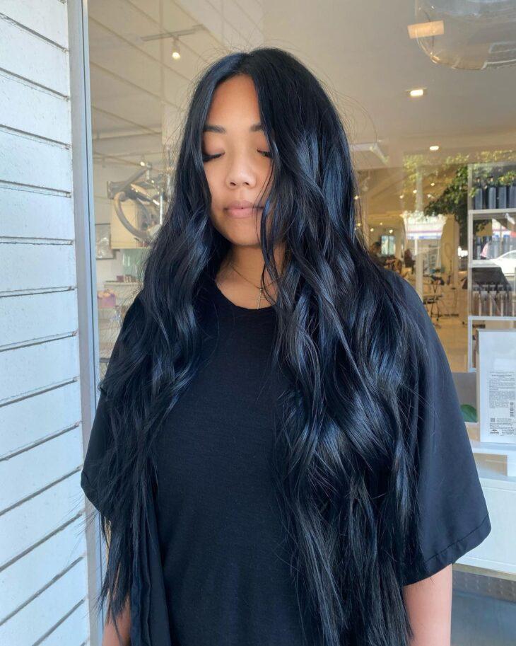 cabelo preto azulado 16