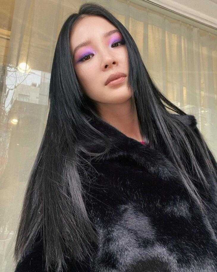 cabelo preto azulado 22