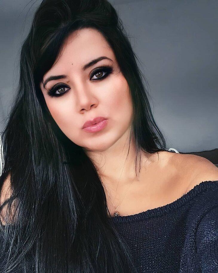 cabelo preto azulado 7