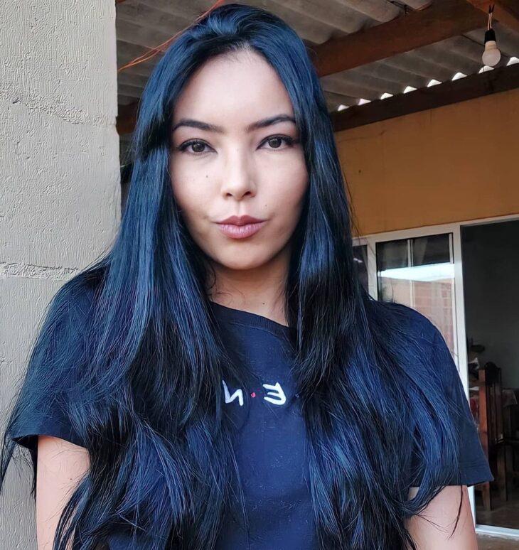 cabelo preto azulado 46