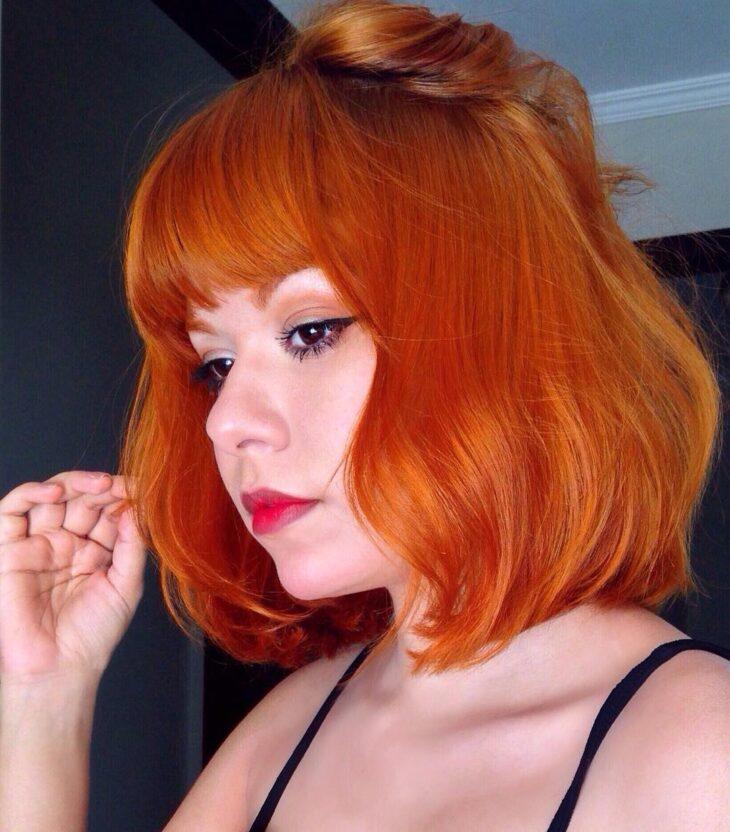 cabelo ruivo curto 19
