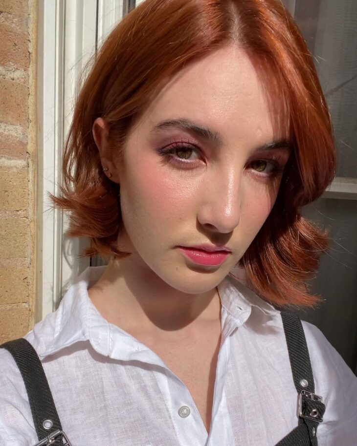 cabelo ruivo curto 12