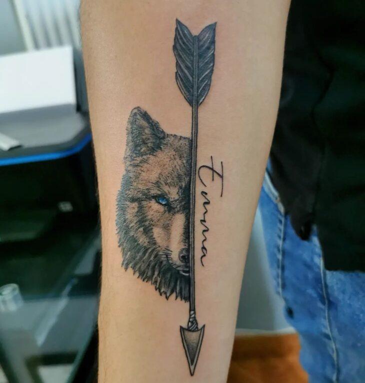 tatuagem de flecha 37