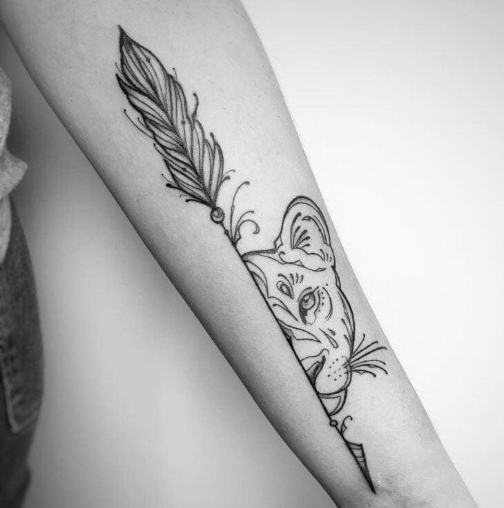 tatuagem de flecha 43