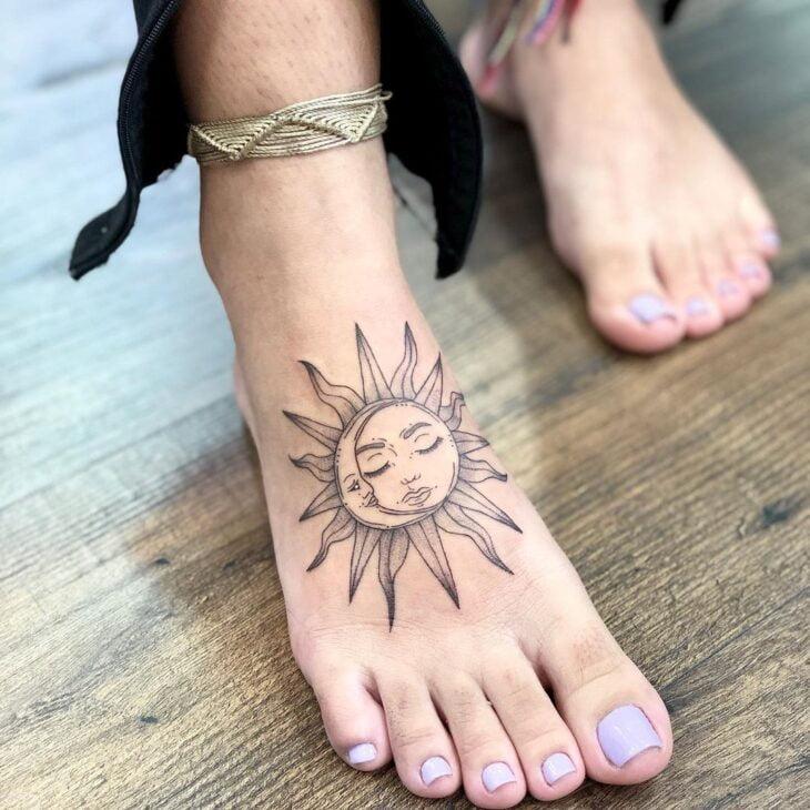 tatuagem de sol e lua 10